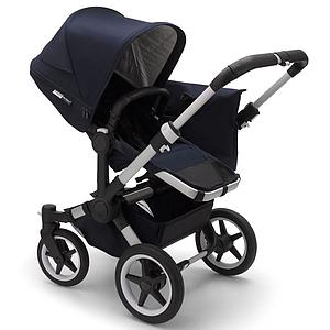 Set extension complet duo Bugaboo Donkey3 Classic alu-dark navy
