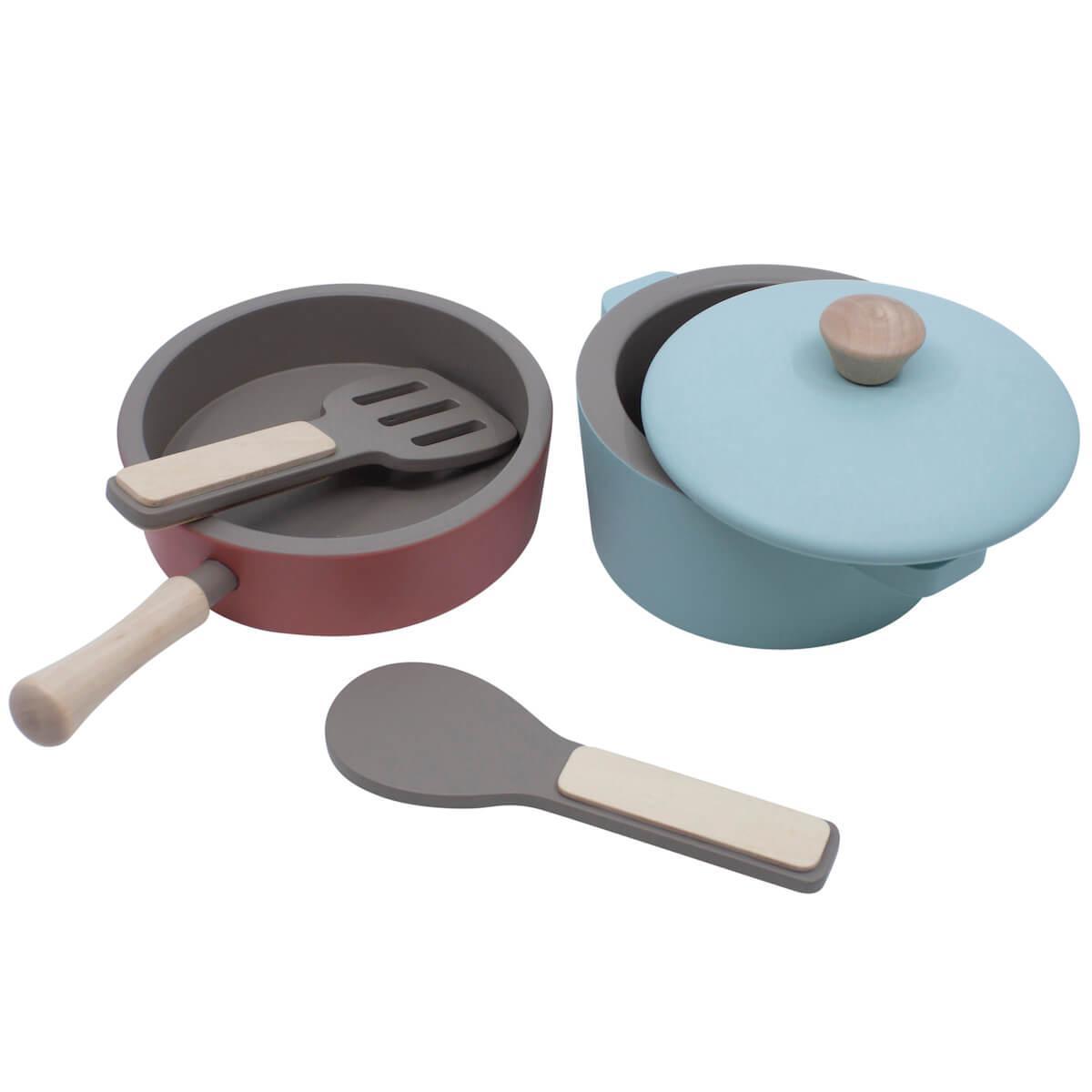 Set ustensiles cuisine Sebra gris warm