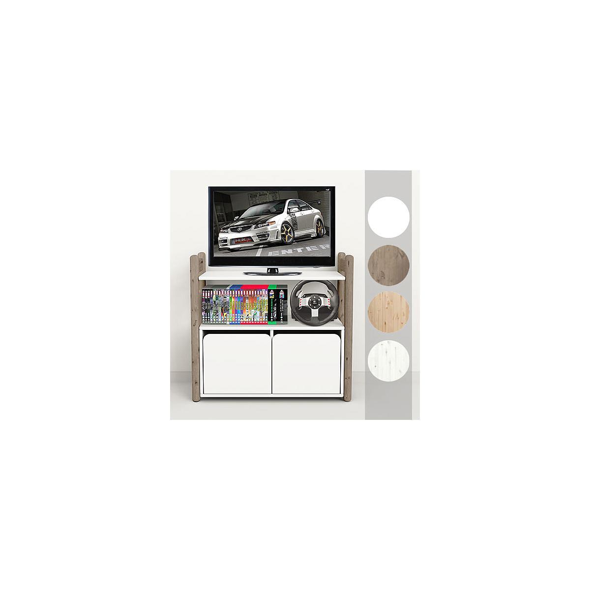 SHELFIE Mini C by Flexa Rangement 74 cm Blanc Blanchi