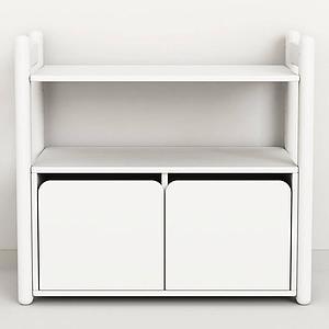 SHELFIE Mini C by Flexa Rangement 74 cm Blanc