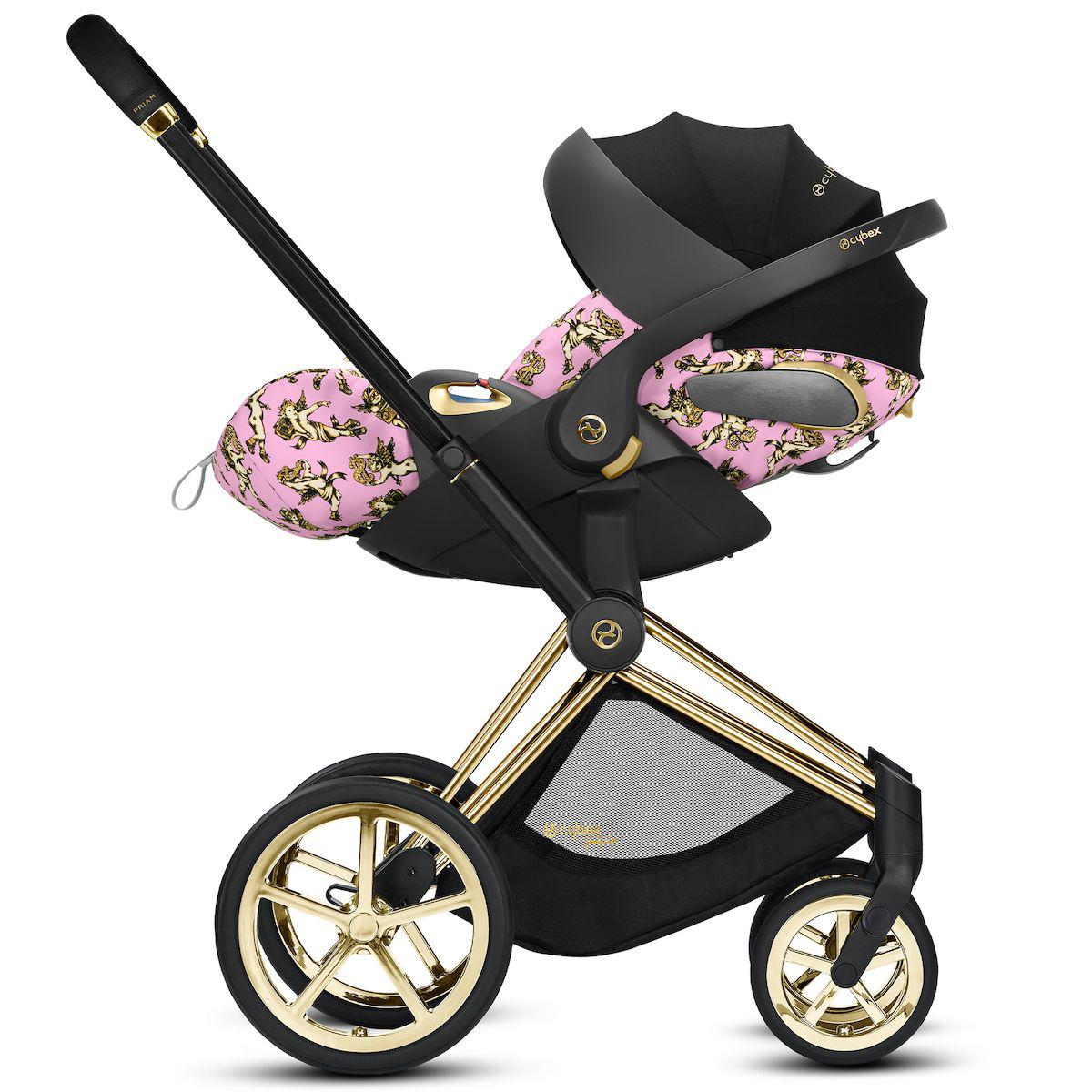 Siège auto gr0+ CLOUD Z I-SIZE Cybex pink-pink