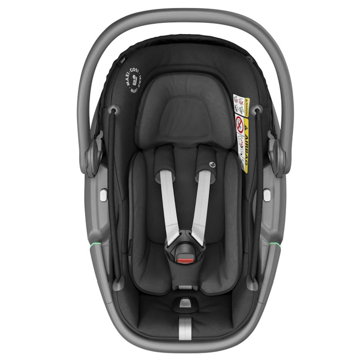 Siège auto gr0/0+ CORAL Maxi-Cosi Essential Black