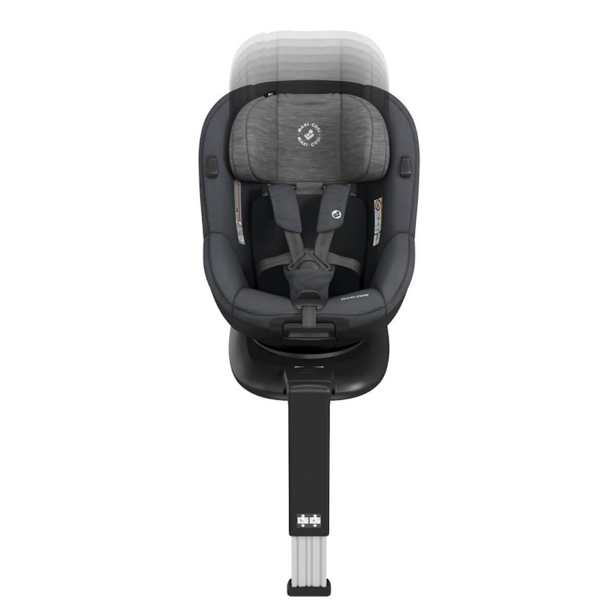 Siège auto gr0+/1 MICA Maxi-Cosi Authentic Graphite