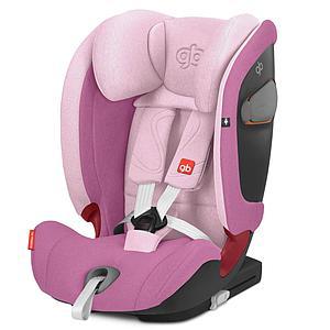 Siège auto gr1/2/3 EVERNA-FIX GB sweet pink-pink