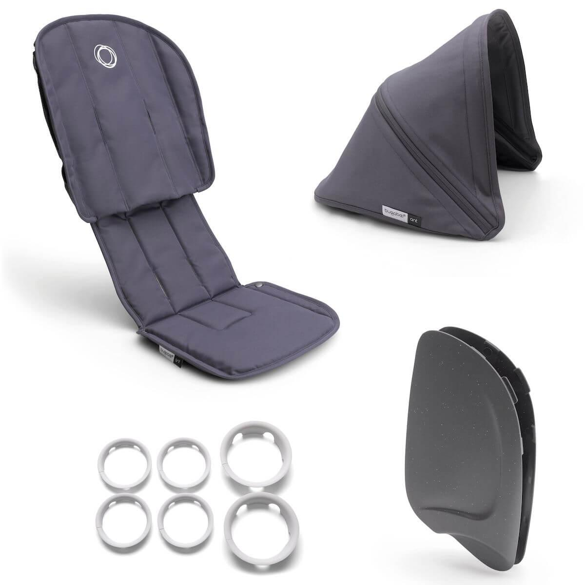 Style set complet ANT Bugaboo steel blue-steel blue