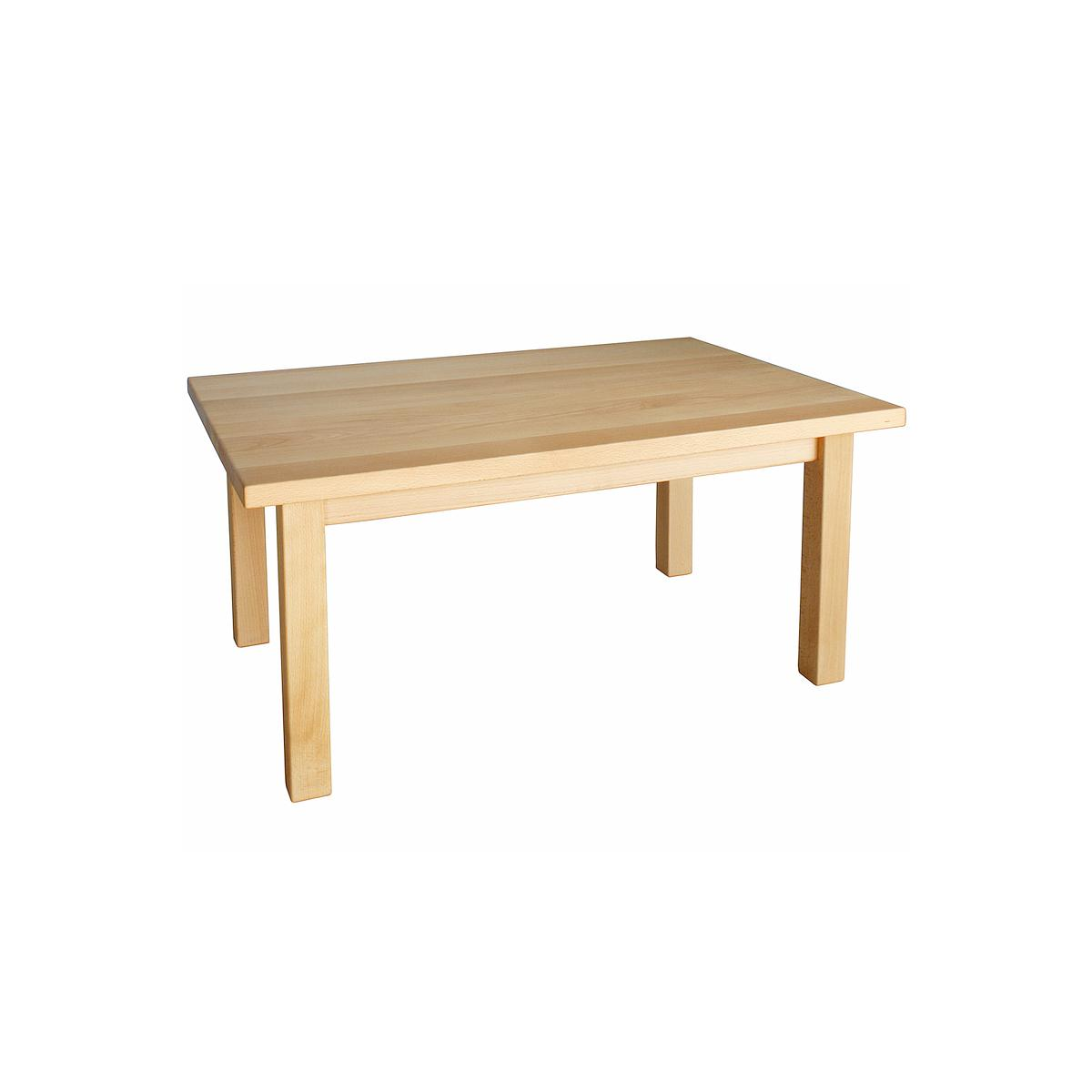 Table 60x90cm DETAIL De Breuyn bois massif-naturel