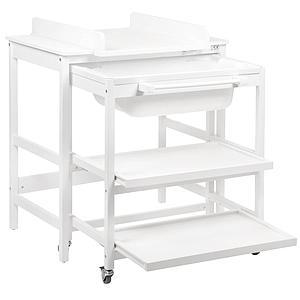 Table à langer-bain SMART Quax blanc