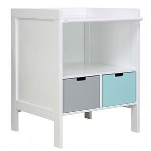 Table à langer-commode BABYFLEX Bopita blanc