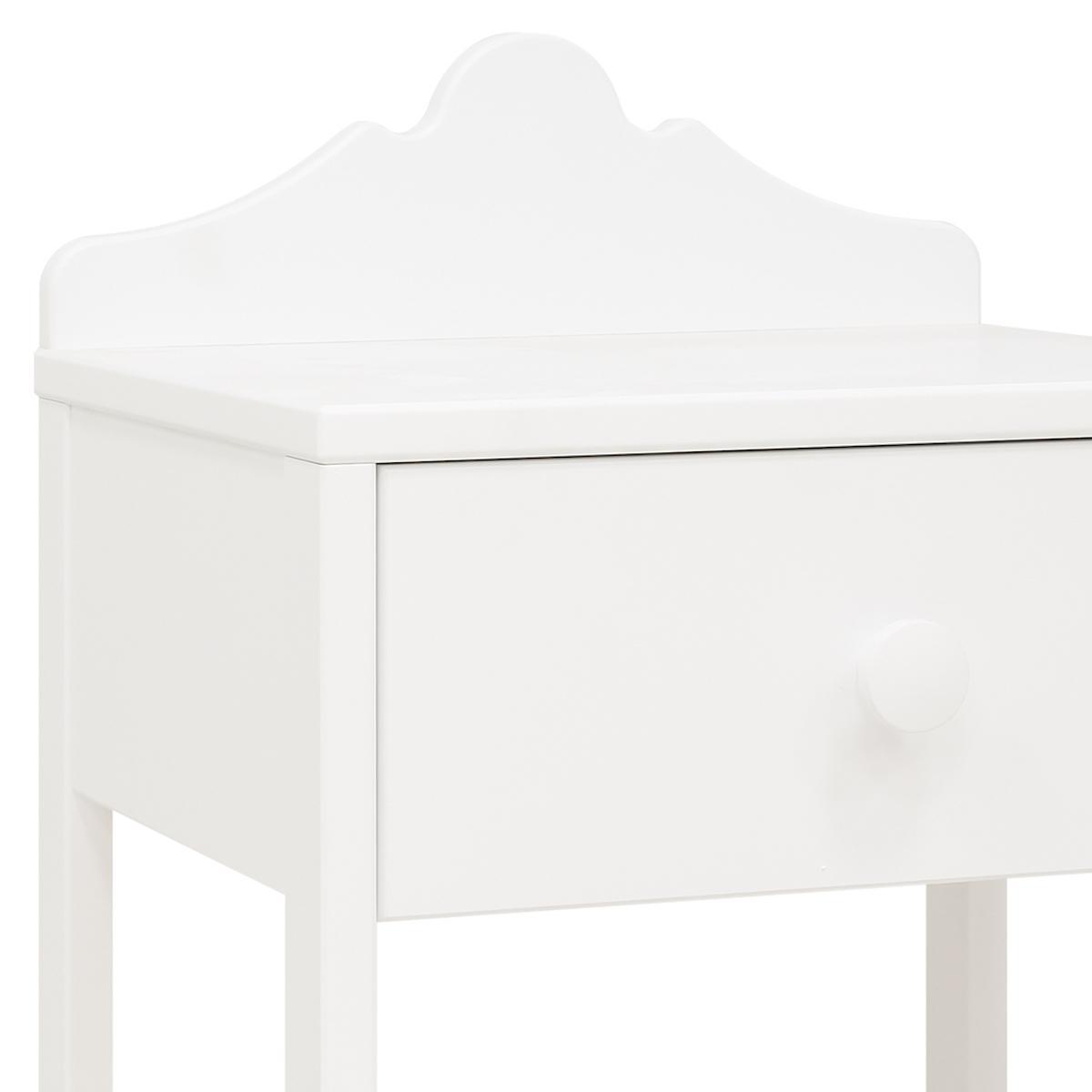 Table de nuit EVI Bopita blanc