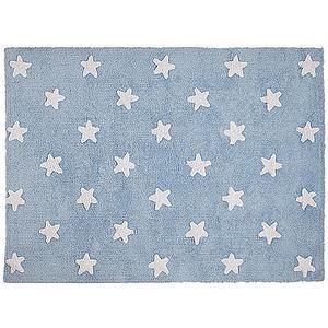 Tapis 120x160cm STARS Lorena Canals blue-white
