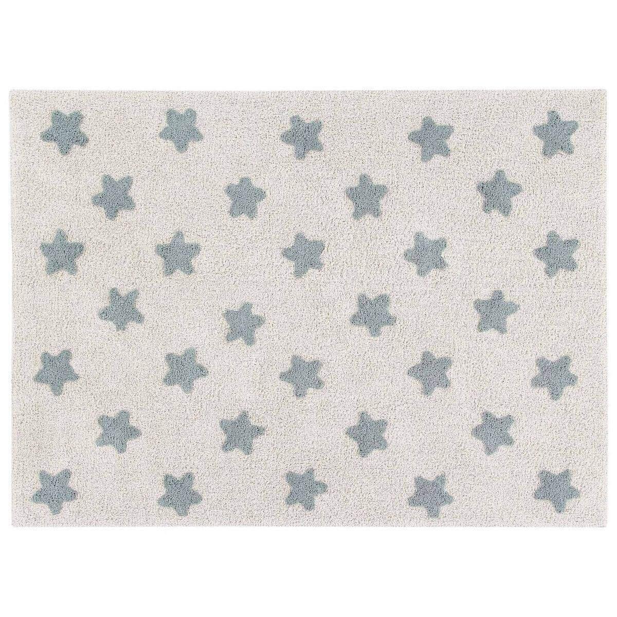 Tapis 120x160cm STARS Lorena Canals Natura-Azul Vintage