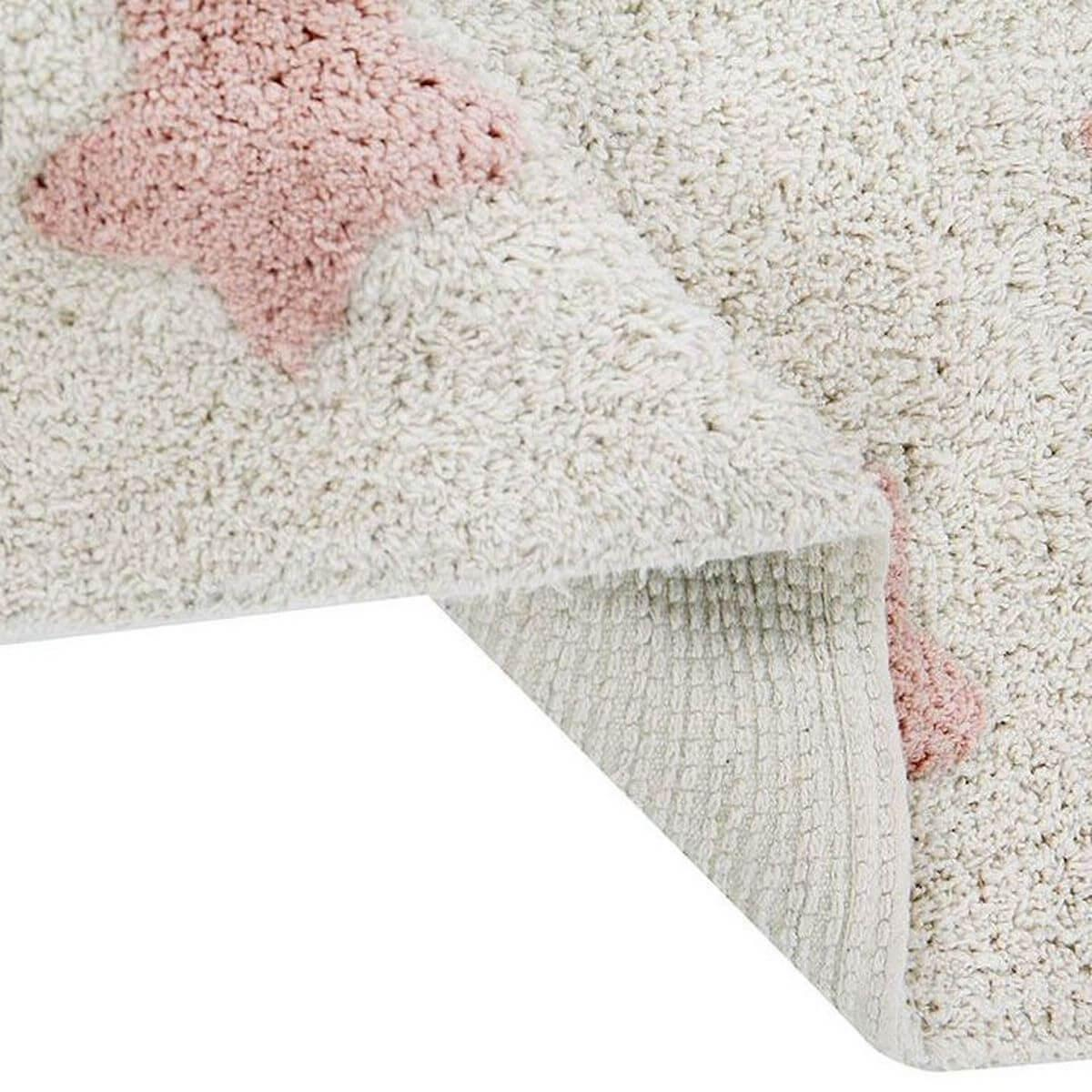 Tapis 120x160cm STARS Lorena Canals natural-vintage nude