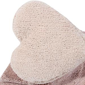 Tapis 160x180cm PUFFY Lorena Canals love nude