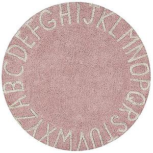 Tapis rond 150cm ROUND ABC Lorena Canals vintage nude-natural