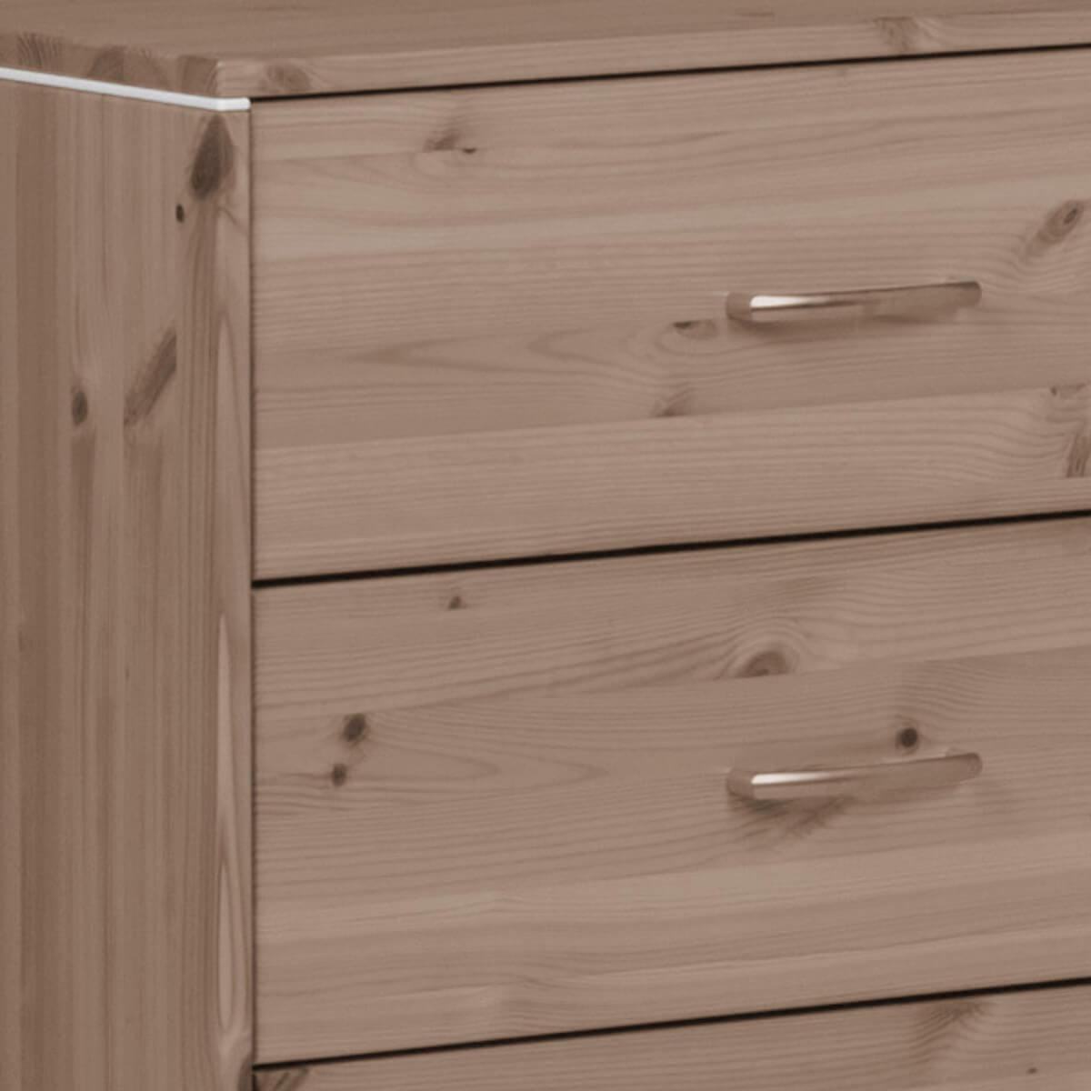 TERRA by Flexa Commode avec 3 tiroirs et baguettes terra
