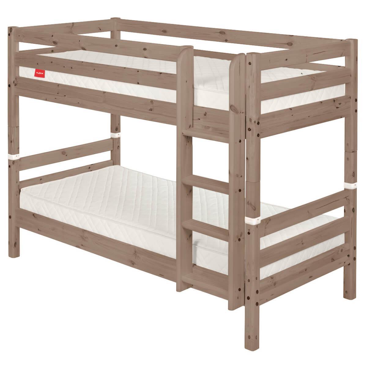 TERRA by Flexa Échelle droite et jonctions pour lit superposé hauteur 154 cm.