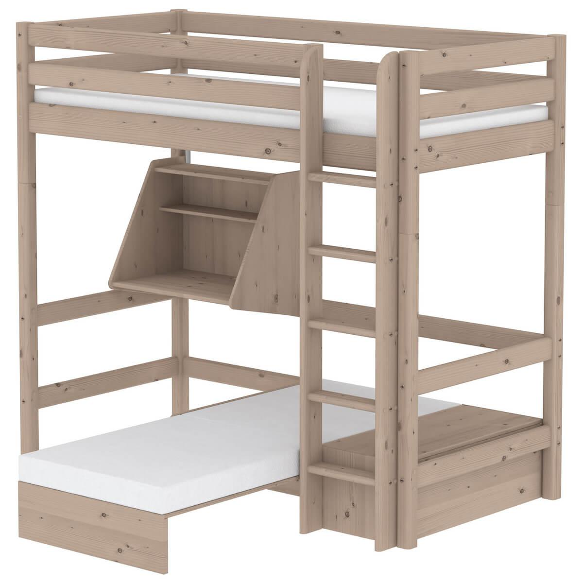 TERRA by Flexa Structure pour sofa sous lit brun