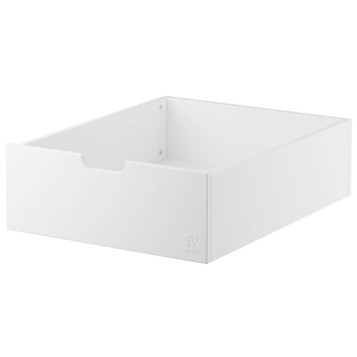 Tiroir lit Sebra blanc