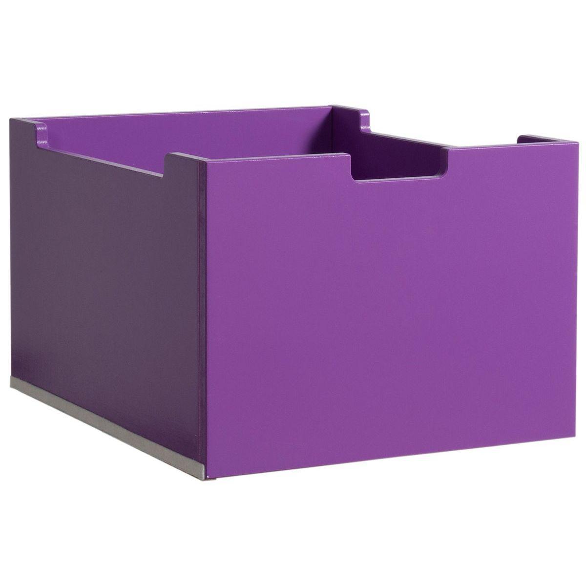 Tiroir moyen MIX AND MATCH Bopita violet