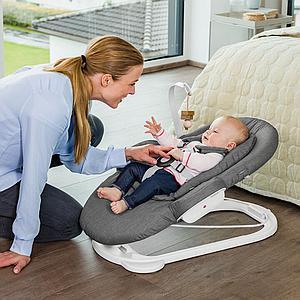 Transat bébé STEPS Stokke blanc-Deep Grey