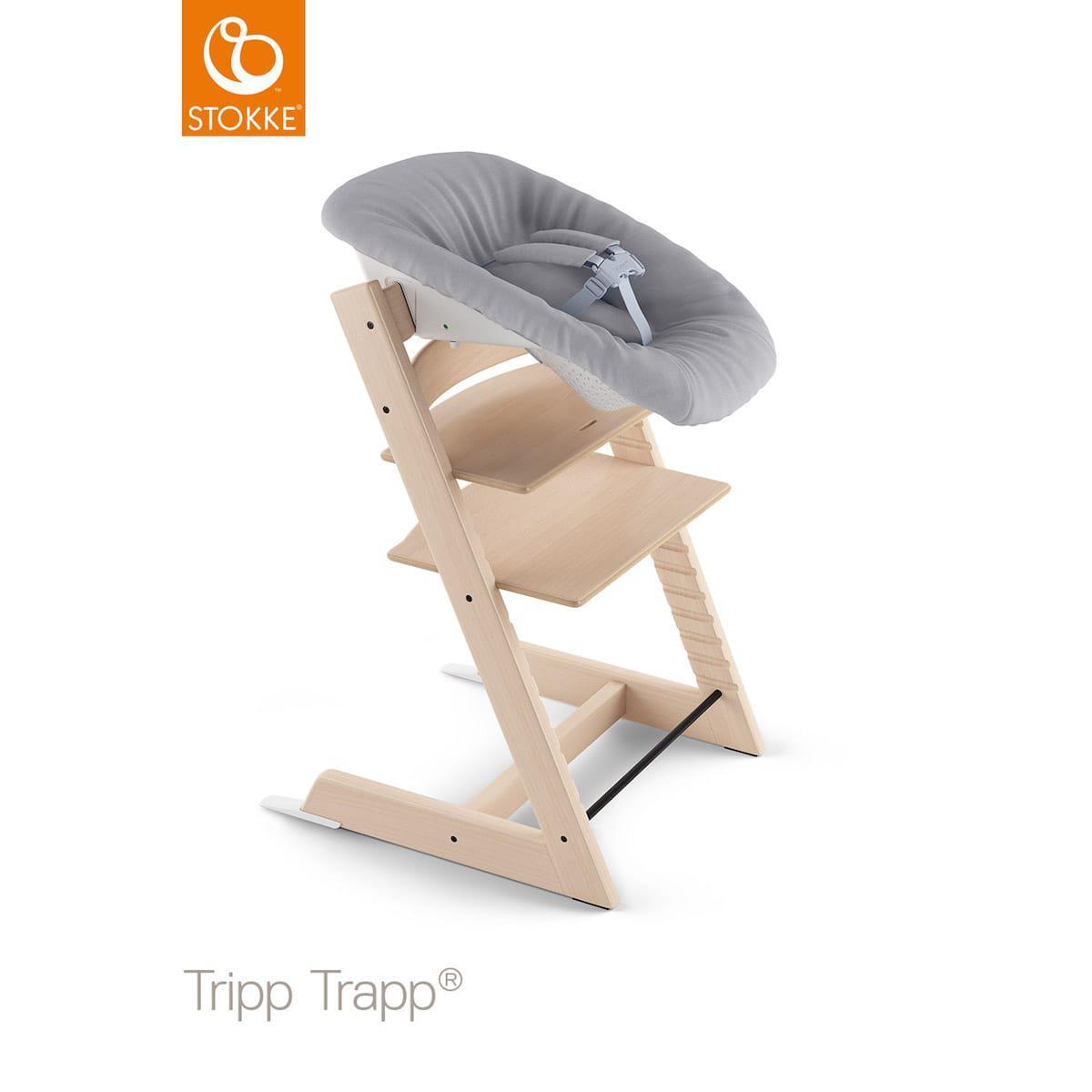 Transat nouveau-né TRIPP TRAPP V2 Stokke gris