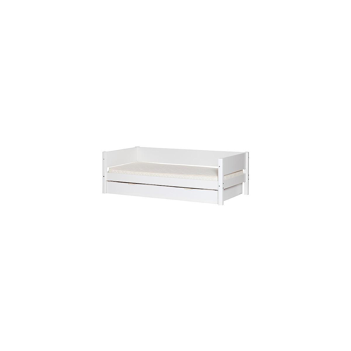 WHITE by Flexa Barrière de sécurité blanche 1/1 en MDF pour lit de 200cm