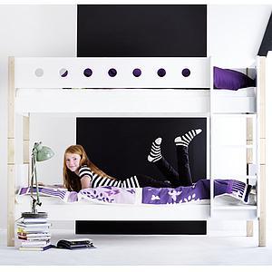 WHITE by Flexa Echelle et jonction pour lits superposés en MDF