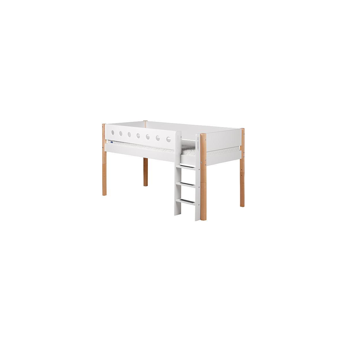 WHITE by Flexa Echelle et pieds pour lit mi-hauteur en MDF