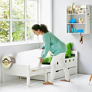 WHITE by Flexa Lit junior 70x140 cm extensible 190 cm Blanc